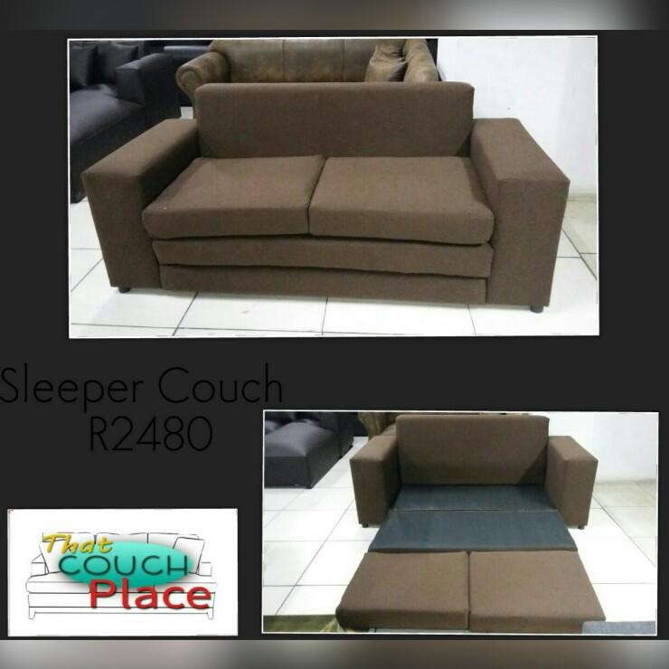 Brown Fabric Sleeper Couch, Brown Fabric Sleeper Sofa